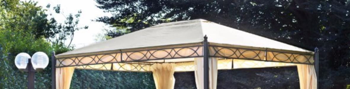 Telo di ricambio impermeabile per gazebo rettangolare 3 x 4 copertura gazebo 3 x 4