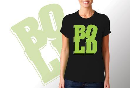 T-shirt Bold/Donna