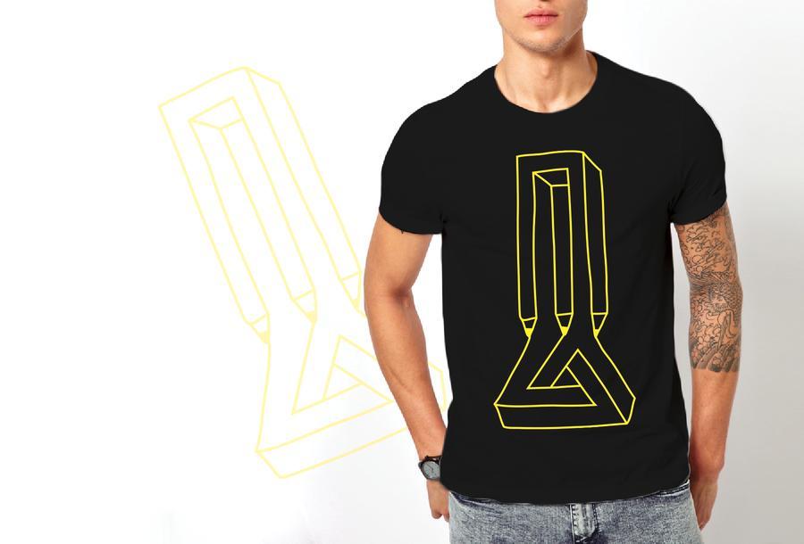 T-shirt impossibile/Uomo