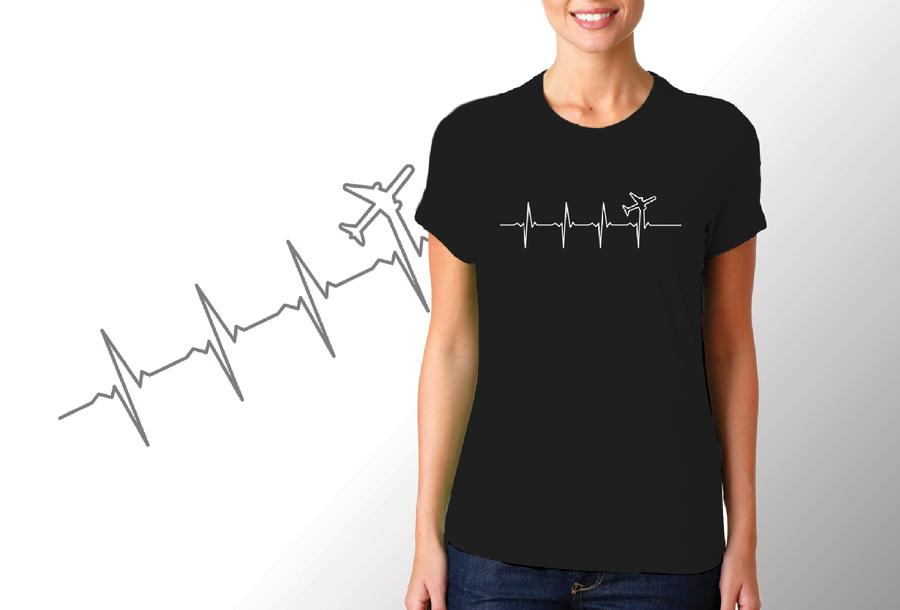 T-shirt Aereo/Donna