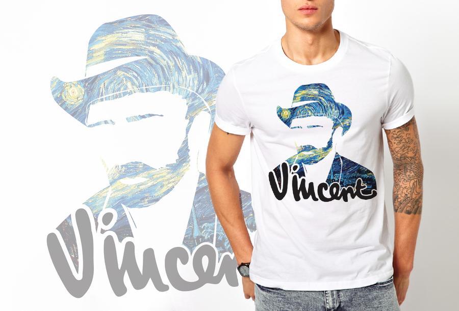 T-shirt Van Gogh/Uomo