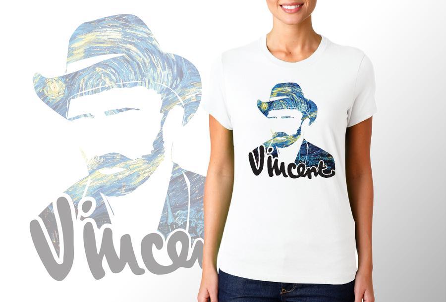 T-shirt Van Gogh/Donna