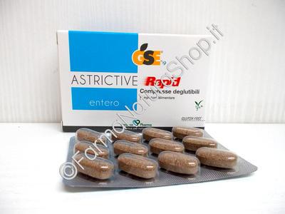 GSE Entero Astrictive Rapid Compresse deglutibili