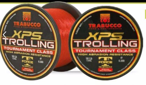 TRABUCCO XPS TROLLING TOURNAMENT CLASS 0.35MM 1000MT