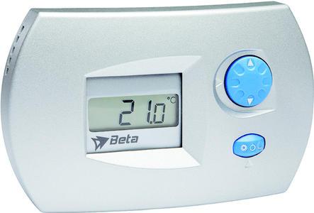 Beta EL0206 Stand alone Hygrostat Silver