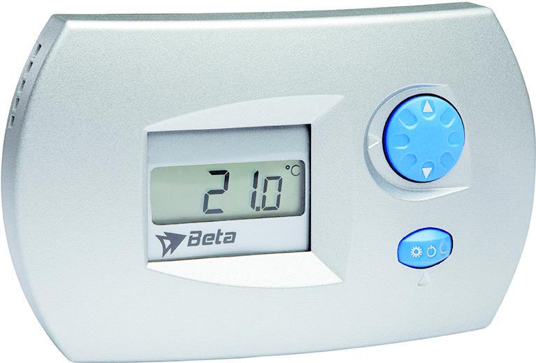 Beta EL0206 Igrostato Stand alone Silver