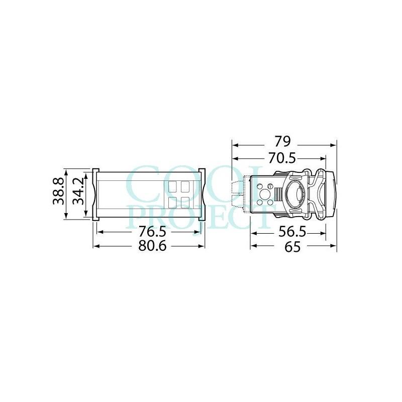 IR33 Universal - IR33E7HB20 - 1 x SPDT + 1 x SPST Relays + 2 x 10Vdc Outputs