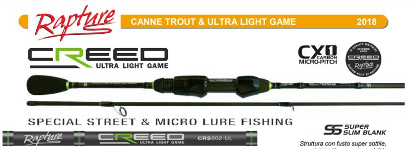 Canna Spinning RAPTURE CREED AREA TROUT