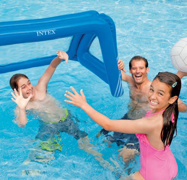 Porta gonfiabile galleggiante gioco piscina intex cm 140 x - Piscina intex gonfiabile ...