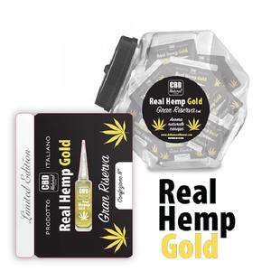 CBD NATURAL FLAVOUR - REAL HEMP GOLD (CONFEZIONE 100PEZZI)