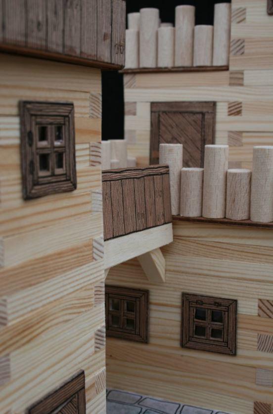 Costruzioni gioco costruzioni legno mattoni legno for Costruzioni in legno
