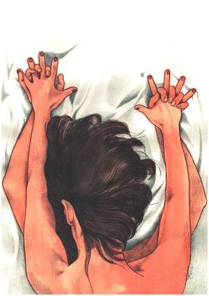 """Stampa """"Le nostre mani strette come i cardini di una porta socchiusa""""."""