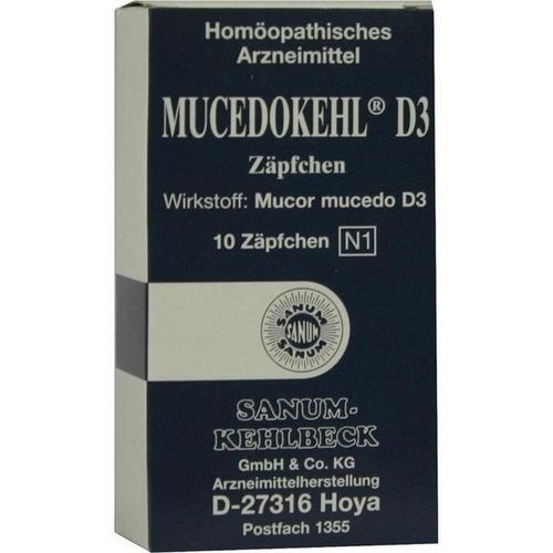SANUM Mucedokehl D3 Supposte