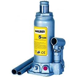 Cricco Sollevatore Idraulico a Bottiglia Portata 2000Kg Alzata 181÷345mm Maurer