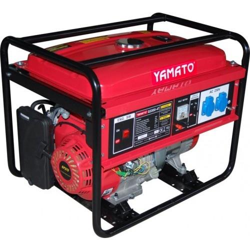Moto generatore di corrente yamato mod g 5500 5 5kw 4t 94719 for Generatore di corrente lidl