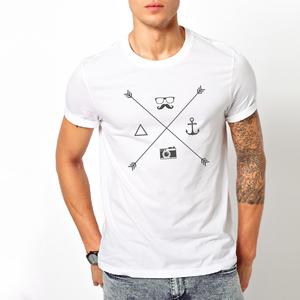T-shirt Elementi Hipster/Uomo