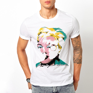T-shirt Andy Warhol/Uomo