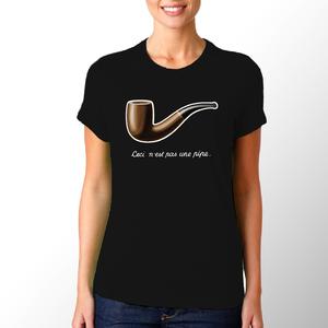T-shirt Magritte/Donna